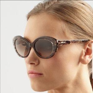 Valentino lace Cat Eye Sunglasses